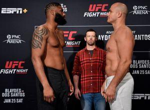 Curtis Blaydes vs Junior Dos Santos