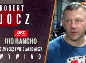 Robert Jocz po walce Błachowicza na UFC Rio Rancho