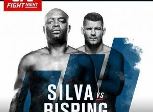 UFC Fight Night 84 Silva vs Bisping