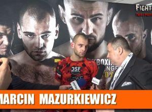 Marcin Mazurkiewicz po DSF Kickboxing Challenge ''Twierdza''
