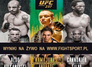 UFC 237 Namajunas vs Andrade