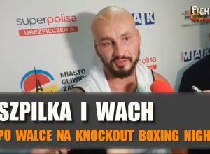 Artur Szpilka po Knockout Boxing Night 5