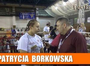 Patrycja Borkowska na WWY Fight Night Wyszków
