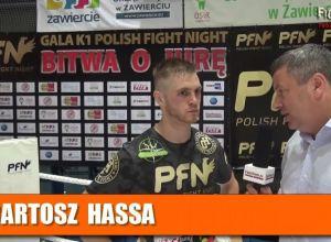 Bartosz Hassa po PFN 2