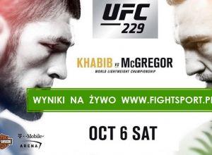UFC 229 wyniki
