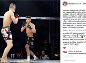 Shamhan Erzanukaev na ACA 92