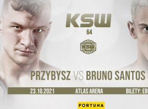 KSW 64 Przybysz vs Santos