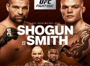 UFC Fight Night 134 Shogun vs Smith