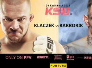 KSW 60 Klaczek vs Barborik