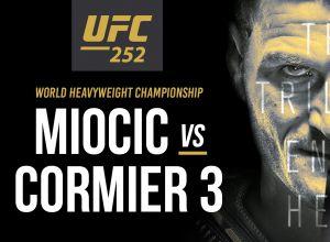 UFC 252 Miocic vs. Cormier 3