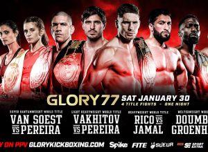 Glory 77 Rico vs Jamal
