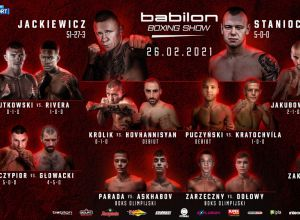 Babilon Boxing Show Fightcard