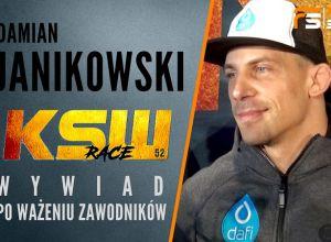 Damian Janikowski przed KSW 52