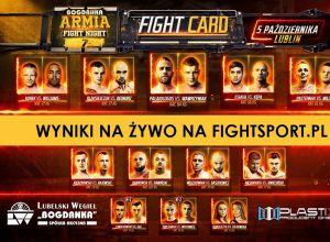 Armia Fight Night 7 wyniki