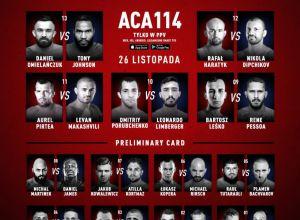 ACA 114 Fightcard