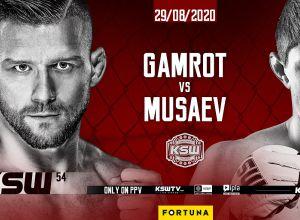 KSW 54 Gamrot vs Musaev