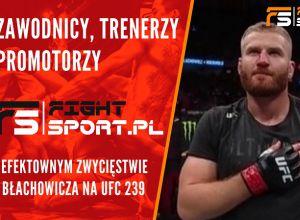Zawodnicy o zwycięstwie Błachowicza
