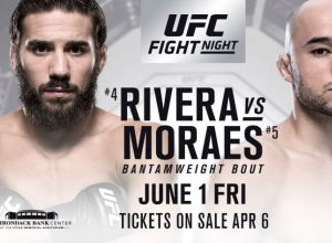 UFC Fight Night 131 Rivera vs. Moraes