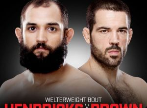 UFC 185 Hendricks vs Brown