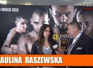 Paulina Raszewska o walce na KSW 42