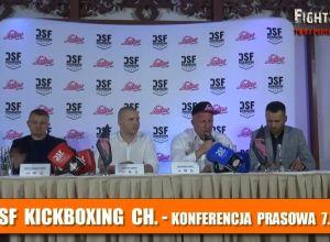 DSF Kickboxing Challenge - konferencja prasowa