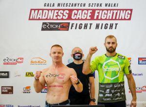 MCF 6 ''Ertons Fight Night'' - wyniki ważenia zawodników