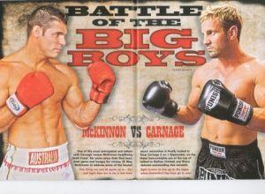 Steve McKinon vs Nathan Corbett