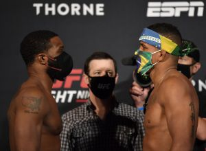 UFC APEX Tyrone Woodley vs Gilbert Burns