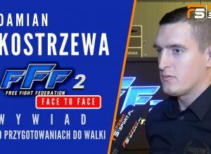 Damian Kostrzewa przed FFF 2