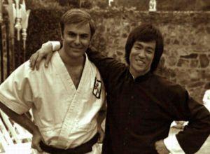 John Saxon & Bruce Lee