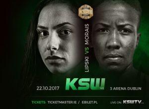 KSW 40 Lipski vs Morais