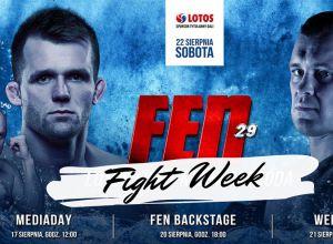 FEN 29 fight week