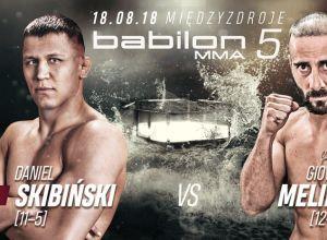 Babilon MMA 5 Skibiński vs Melillo
