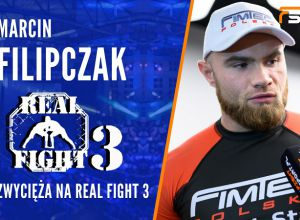 Marcin Filipczak po Real Fight 3