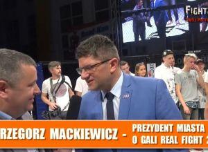 Real Fight 2 - Prezydent Pabianic Grzegorz Mackiewicz