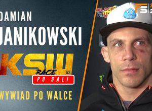 Damian Janikowski po KSW 52