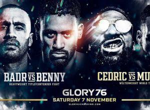 Glory 76 Badr vs Benny