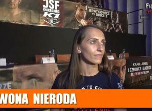 Iwona Nieroda przed walką na DSF 16