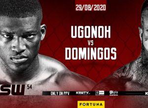 KSW 54 Izu Ugonoh vs Quentin Domingos