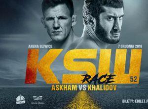Mamed Khalidov vs Scott Askham na KSW 52