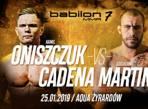 Babilon MMA 7 - Kamil Oniszczuk