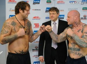Aleks Emelianenko vs Jeff Monson
