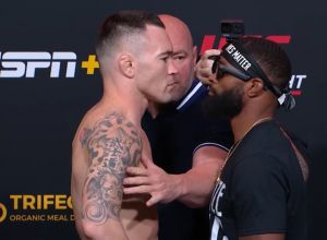 Colby Covington vs Tyrone Woodley