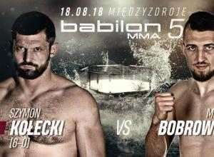 Babilon MMA 5 - Szymon Kołecki vs Michał Bobrowski