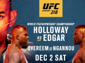 UFC 218 Holloway vs. Aldo 2