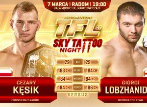 Cezary Kęsik vs Giorgi Lobzhanidze na TFL 20