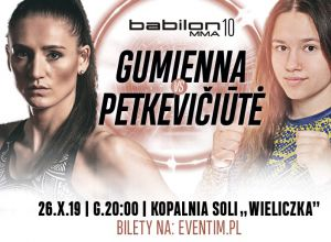 Babilon MMA 10 Gumienna vs Petkewiciute