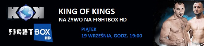 Transmisja Gali KOK World GP in Chisinau! Na żywo na FightBox!