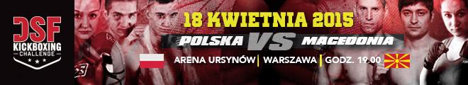 DSF Kickboxing Challenge - Polska vs Macedonia