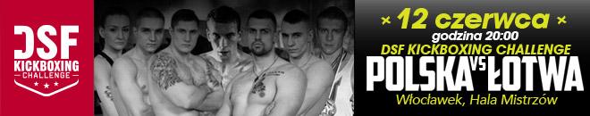 DSF Kickboxing Challenge - Polska vs Łotwa